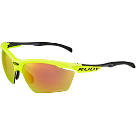 Rudy Project Agon Racing Pro Glasses yellow fluo/orange